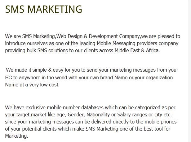 Our support team is within UAE, we offer best prices structure, options for  Volume