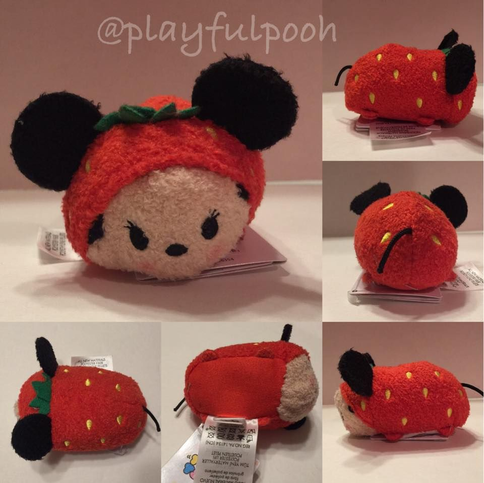 a1cae152ed8 Strawberry Minnie tsum tsum released at Target