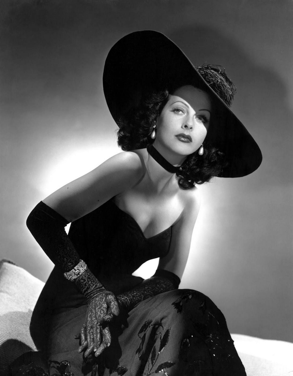 Hedy Lamarr Celebrity Shots 1940s Fashion Hollywood Glamour