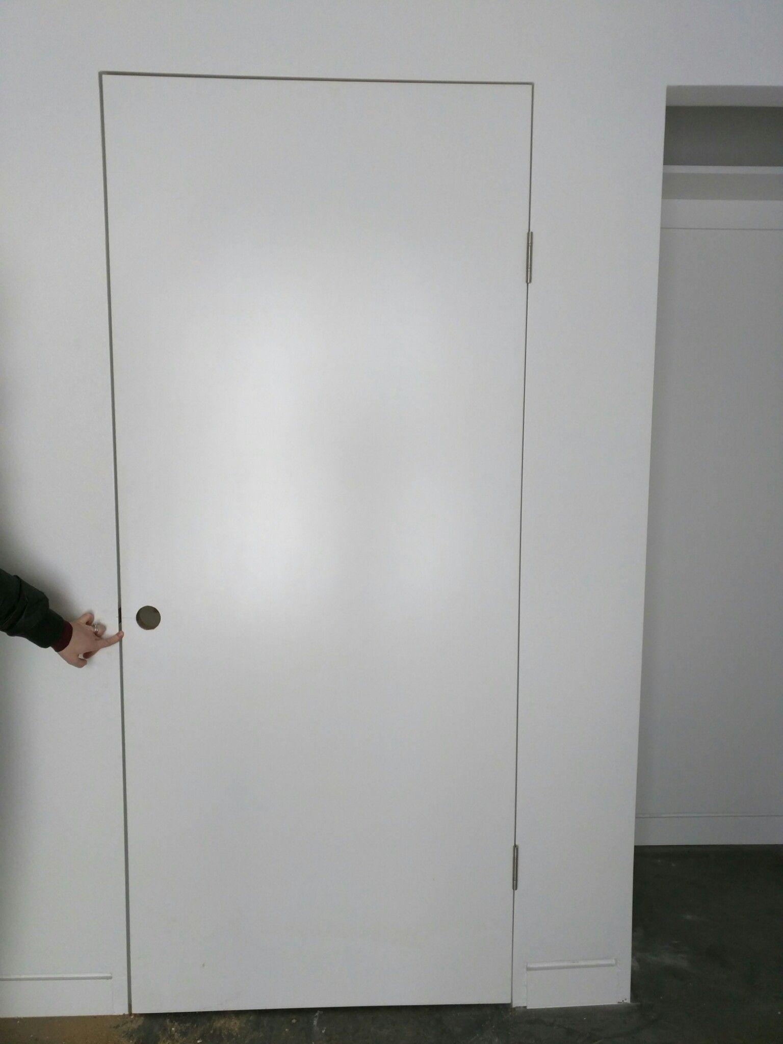 The Trimless Ezy Jamb Doors Have Been A Hot Topic On This Blog In Fact My Introduction To Ezy Jamb Ranks Number Two In Traff Modern Door Doors Interior Doors