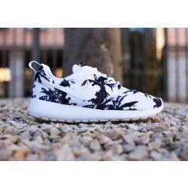 Nike Sneakers For Women : Nike Roshe Run Black White Marble