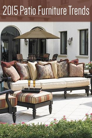 High Quality 2015 Patio Furniture Trends | Family Leisure