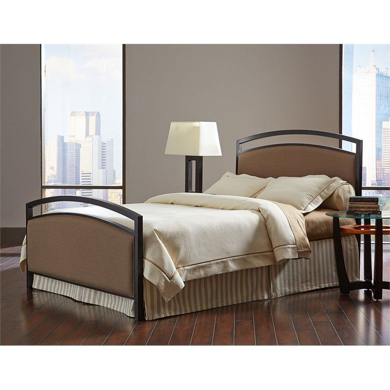 Shop Fashion Bed Gibson Metal Upholstered Panel Bed in Brown by Fashion Bed  at Furniture Sale Prices from our Beds Department or compare by SKU B7161XX online at OneWay Furniture.