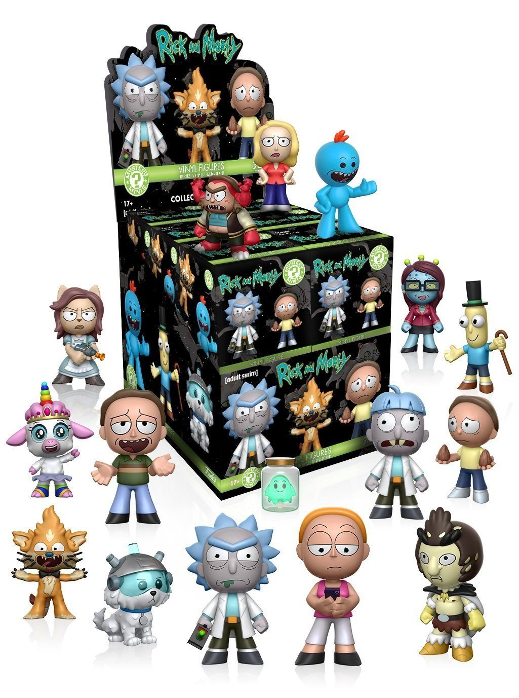 Funko Mystery Mini Rick And Morty Series 1 One Mystery Box Action Figure Funko Mystery Minis Mystery Minis Vinyl Figures