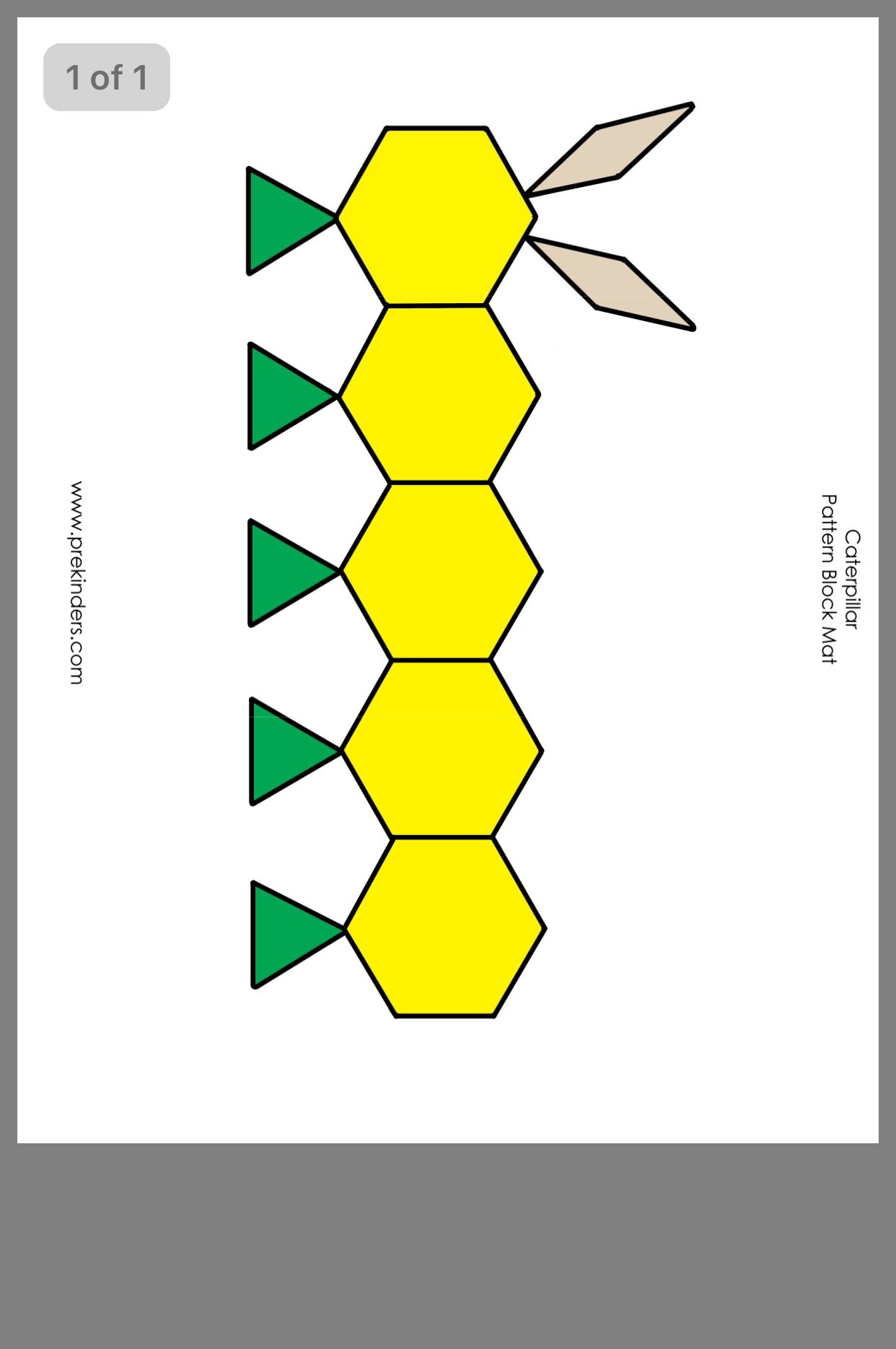 Pin By Missy Kline On Preschool Block Patterns