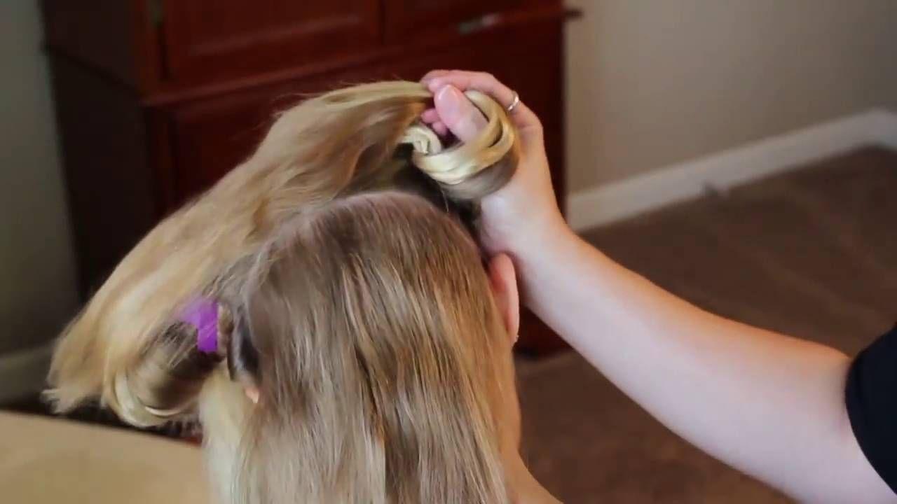 How to twisty tops hair buns toddler hair pretty hair is fun hd