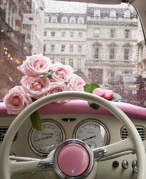 Vorrei colorare il mondo di rosa... per te #mimanchi #tipenso
