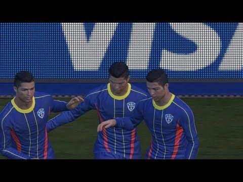 Pes 2018 Pc Real Madrid Vs Team C Ronaldo Full Match Gameplay