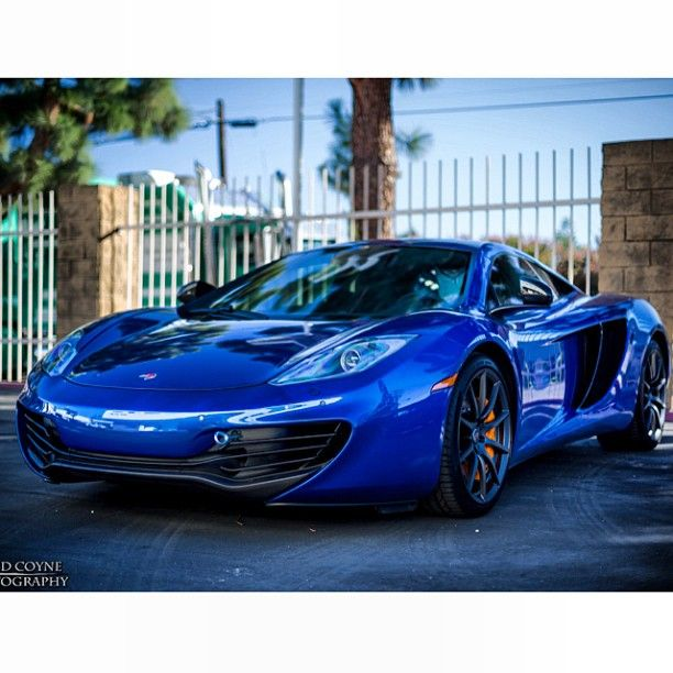 blue dream - mclaren mp4 12c | luxury car lifestyle | cars, car