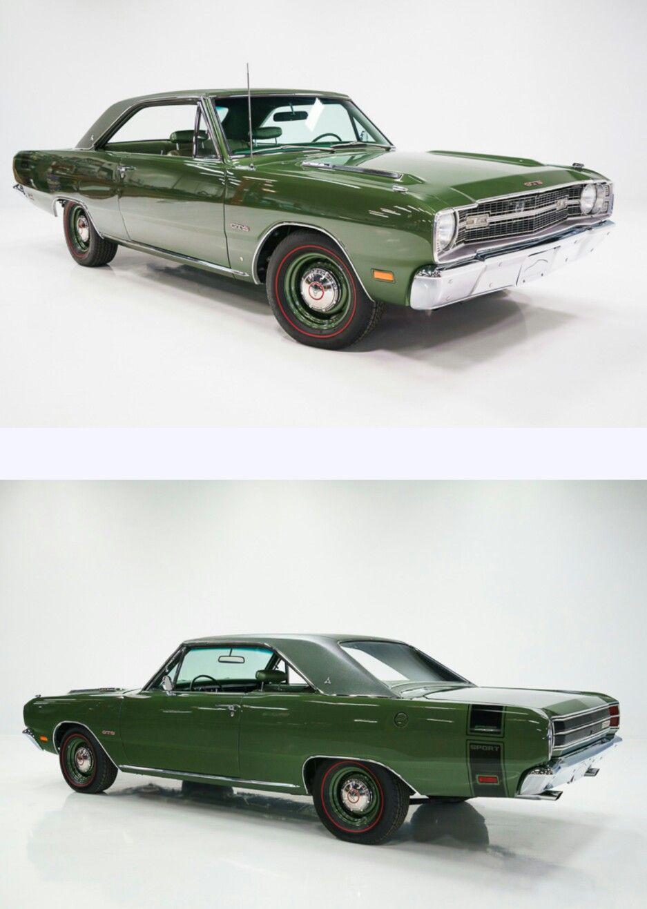1969 Dart Gts 383 Dodge Muscle Cars Classic Cars Dodge