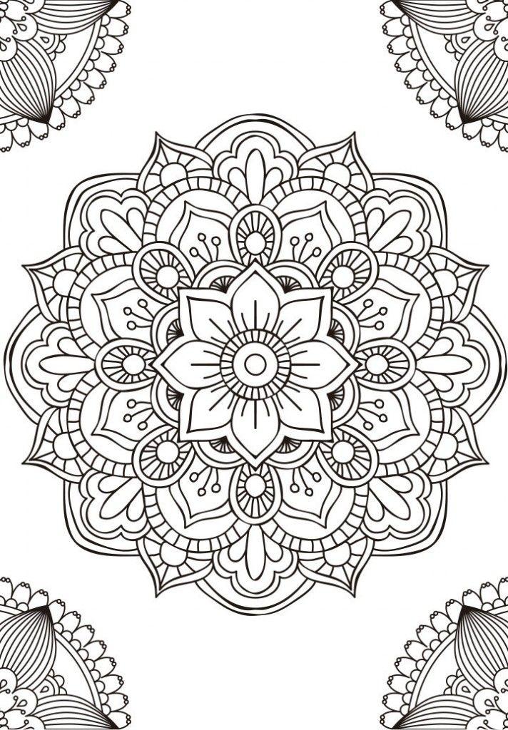11 mandalas para colorear budistas (8) | Art | Mandala, Mandala