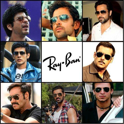5b8ef0327f20e9 Bollywood Stars Wearing Ray-Ban   Celebrity   Sunglasses, Sunglasses ...
