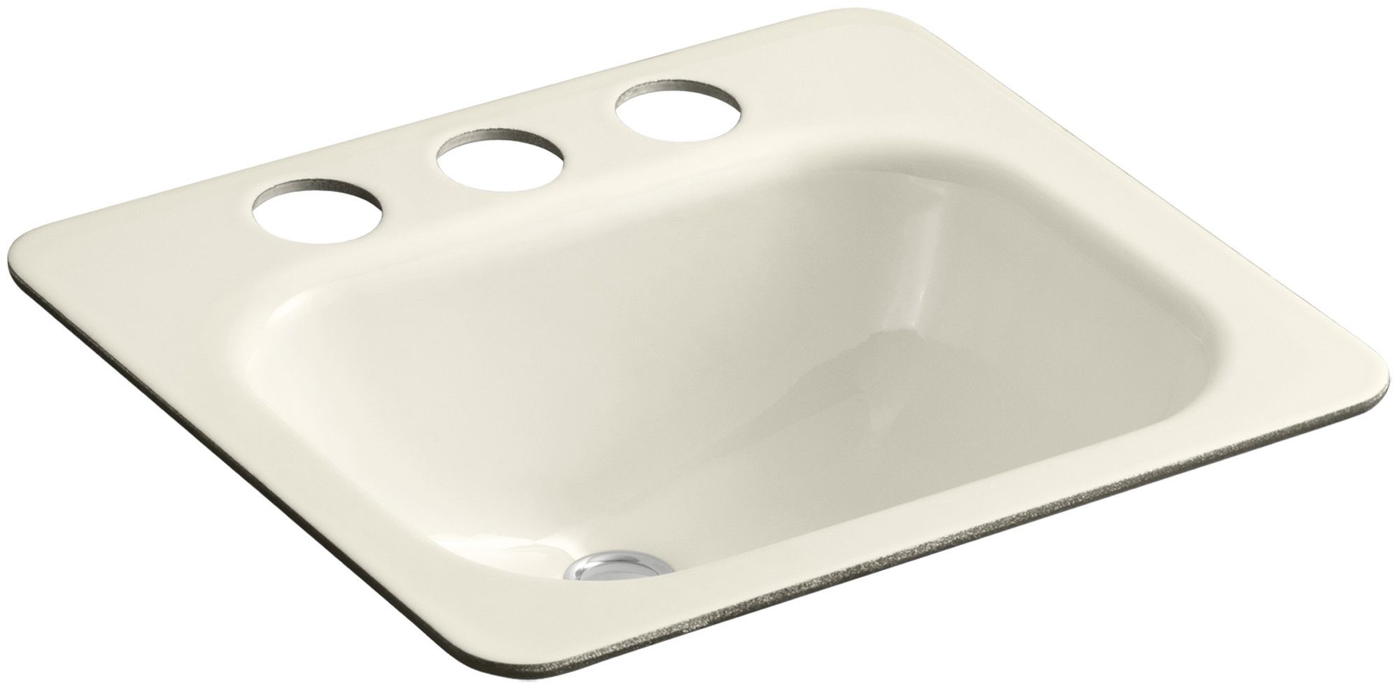 "Tahoe Undermount Bathroom Sink with Oversize 8"" Widespread Faucet Holes"
