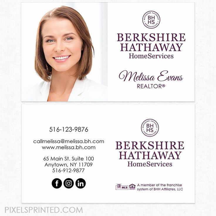 Keller Williams Business Card Unique 63 Best Berkshire Hathaway Home Services Real Estate Stationery Realtor