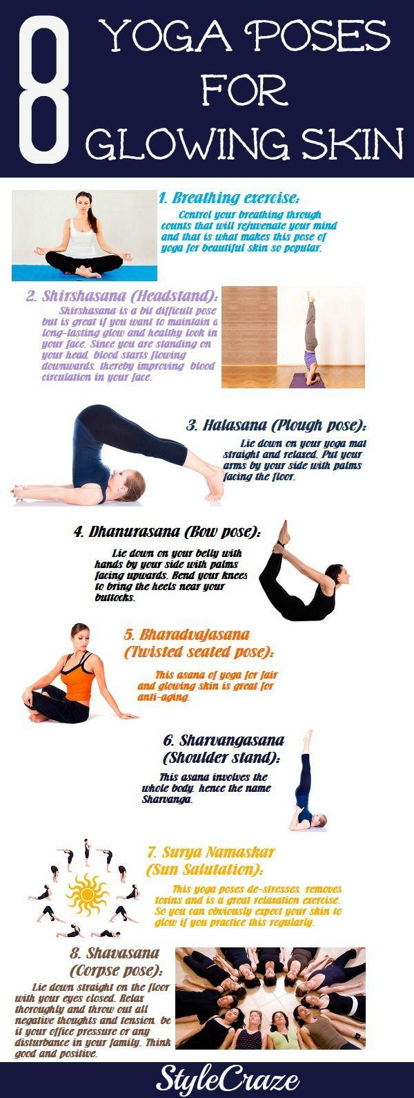 Easy Yoga For Glowing Skin