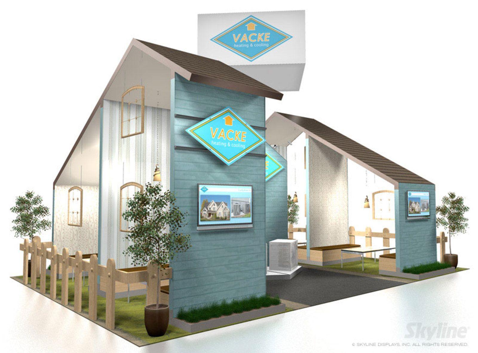 Vacke Island Exhibit Exhibition Booth Design Booth Design