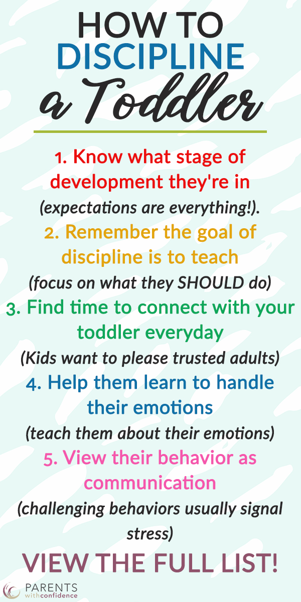 7 cardinal rules for disciplining a toddler the emotionally healthy way- backed in positive parenting techniques.