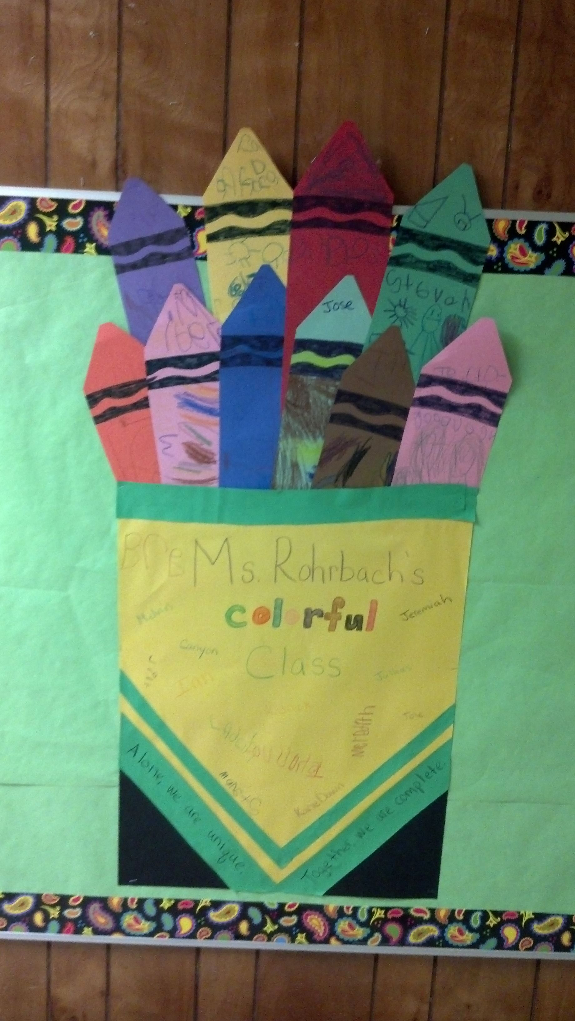 Great Activity For Mlk Day Using The Crayon Box That