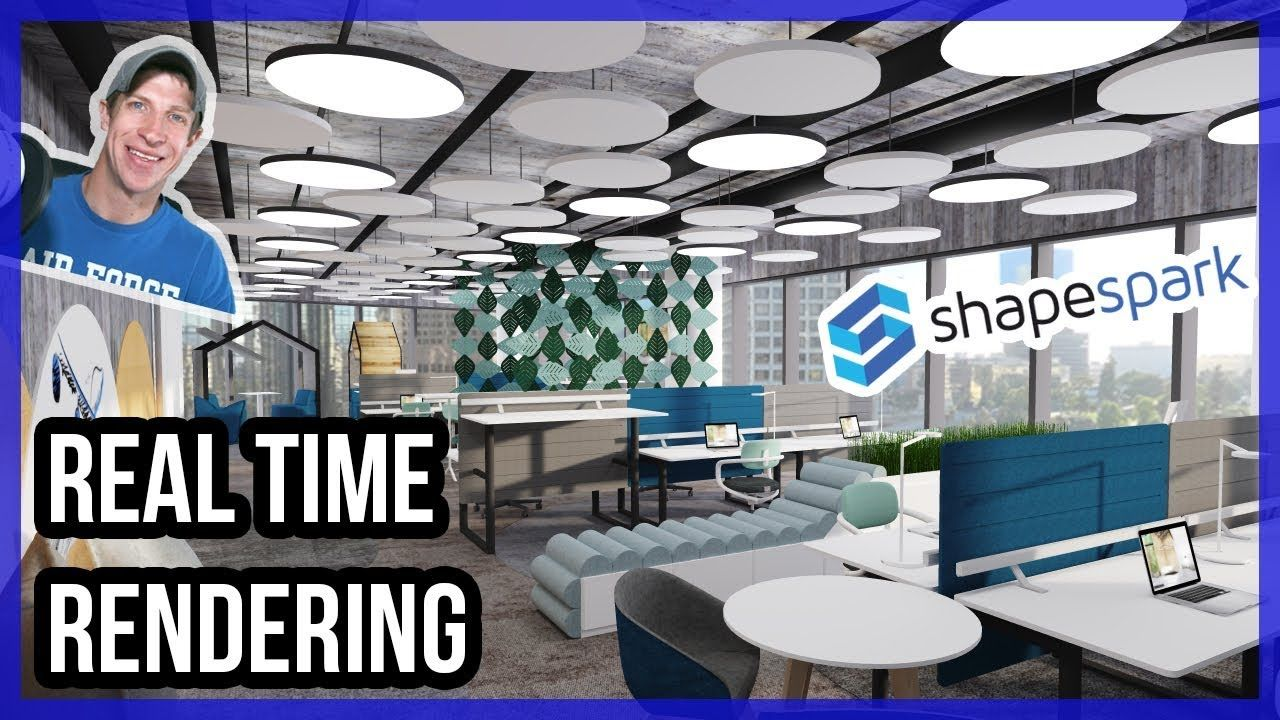 Real Time Rendering In Sketchup With Shapespark Woodworking
