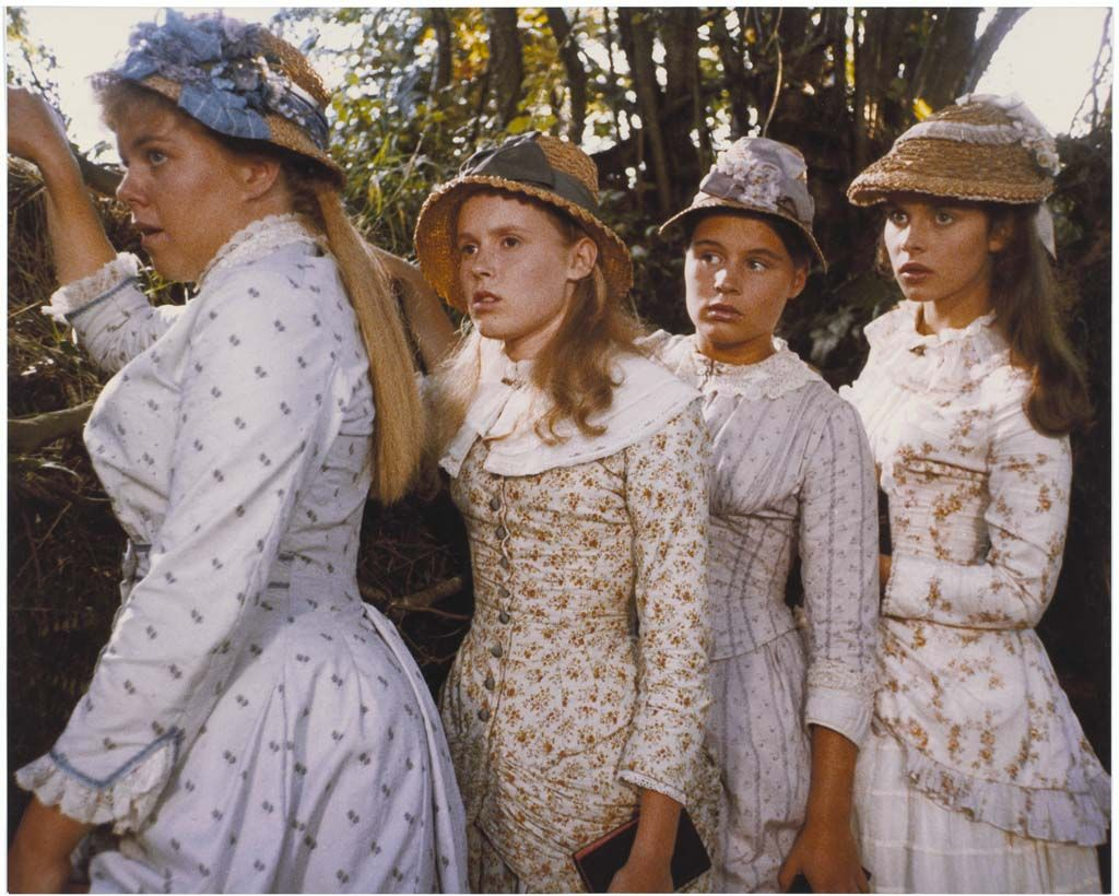 """Costumes from the movie """"Tess"""" directed by Roman Polanski (1979) 
