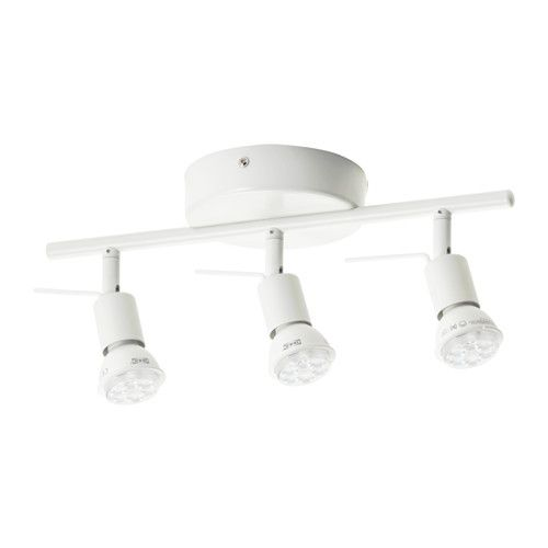 Tross Plafondrail 3 Spots Wit Ikea Ceiling Lamps Bedroom Ceiling Lights Ceiling Spotlights