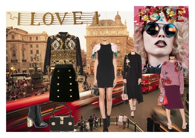 """""""LOVE"""" by mila-martin ❤ liked on Polyvore featuring Dolce&Gabbana"""