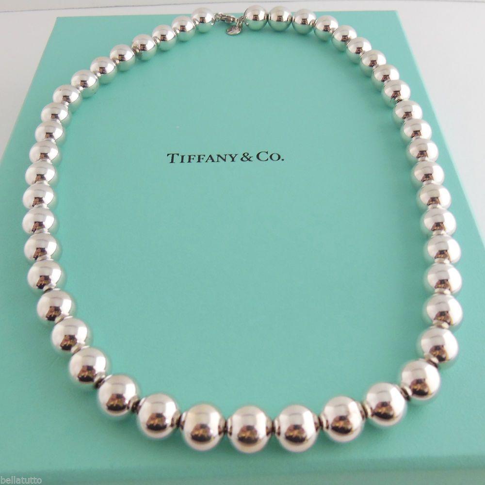 Pin By Bella Tutto Jewelry On Tiffany Co Necklace Tiffany Co Silver Strand