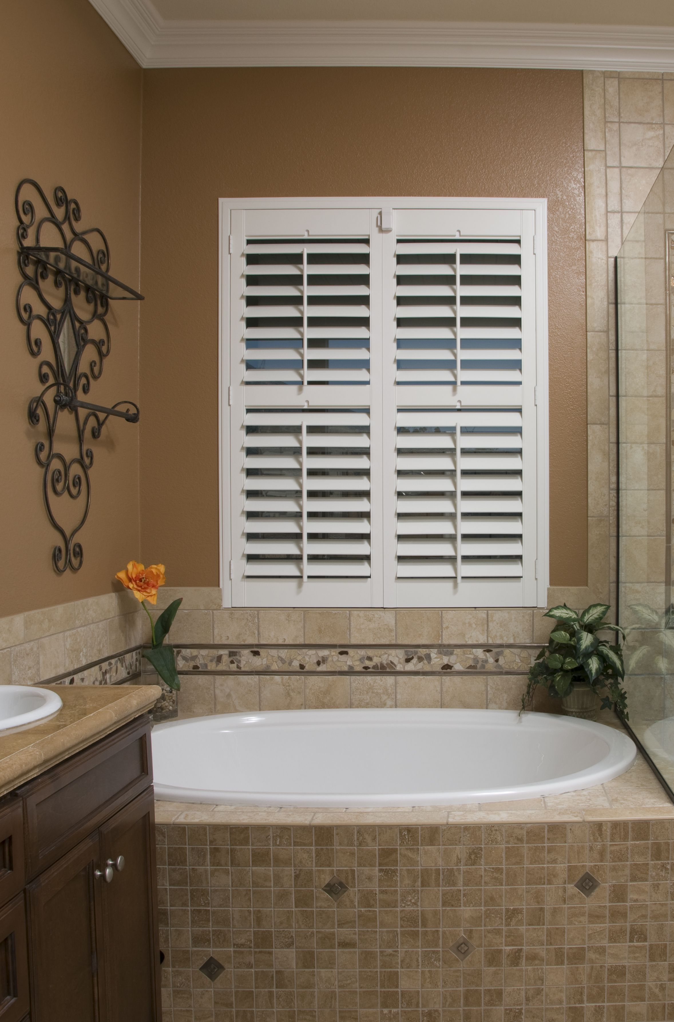 A Perfect Fit Our Polymer Shutters Are An Excellent Option For Bathrooms Where Humidity Runs High Mold In Bathroom Bathroom Renovation Diy New Bathroom Ideas