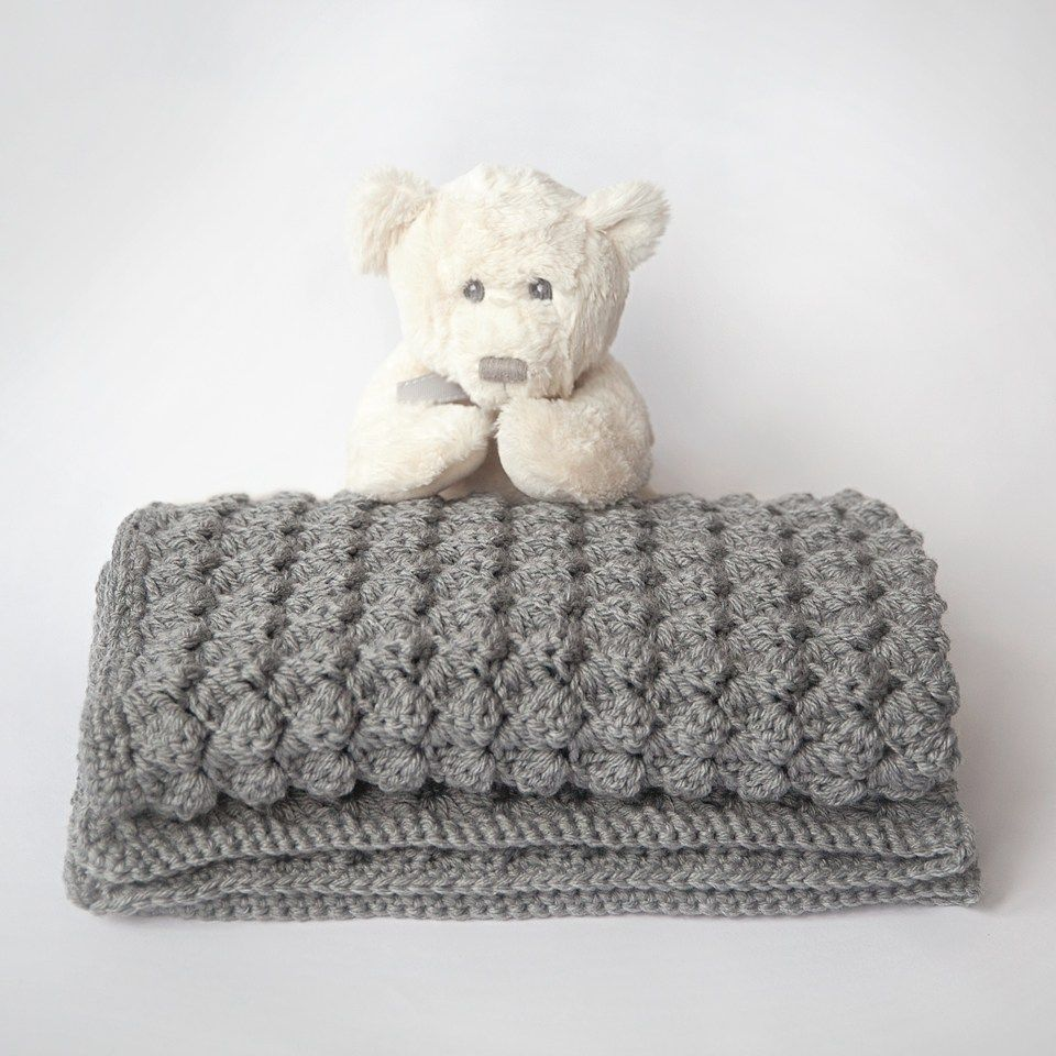 Free Baby Blanket Crochet Pattern | Crochet things | Pinterest ...