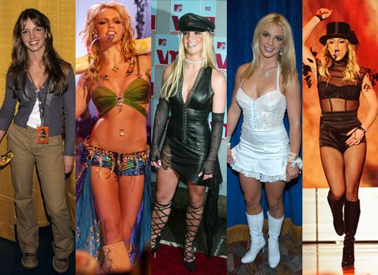 5 Group Halloween Costumes for Girlfriends   Britney spears