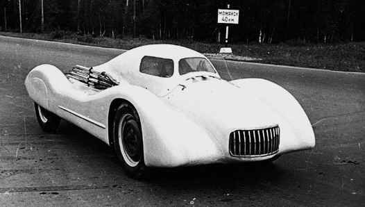 Moskvitch Soviet A Record Breaking Racing Car Designed By