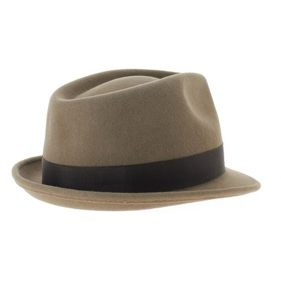 0159288f3161f chapeau trilby marron beige richmond trilby stetson - Chapellerie Traclet