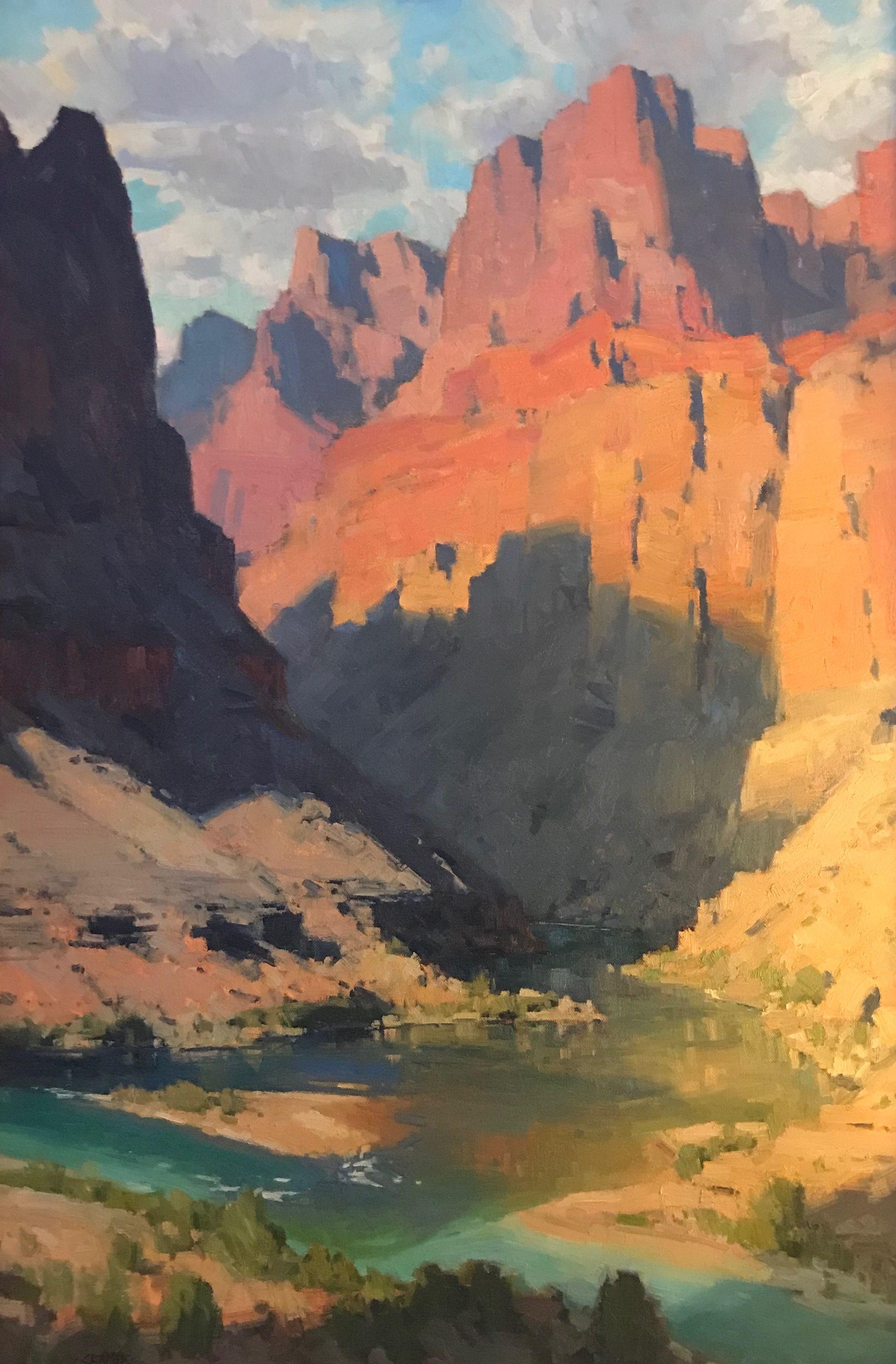 Pin By Jon Opalski On Bill Cramer Southwest Painting Desert Art Southwestern Art