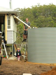 Our Story Of DIY Rainwater Harvesting   Living Off The Grid