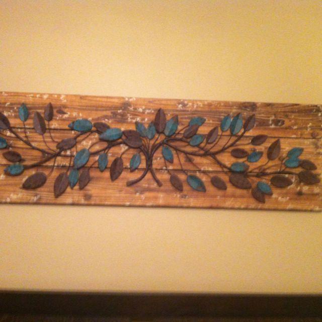 Easy homemade wall art!   DIY   Pinterest   Craft work, Crafty craft ...