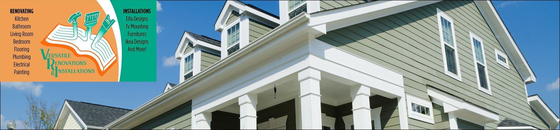 Versatile Renovations And Installations Llc Renovations Installation Remodeling Service