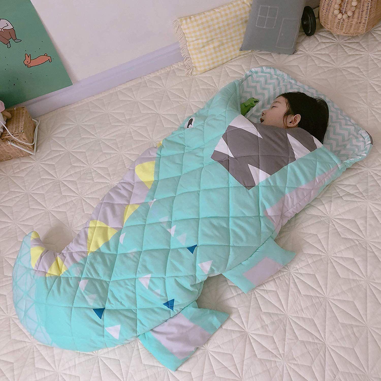 Lxycd 100 Cotton Crib Mattress Toddler Nap Mat Waterproof Baby Crawling Cushion Hypoallergenic Sleeping Pad Washable In 2020 Toddler Nap Mat Baby Mattress Toddler Nap