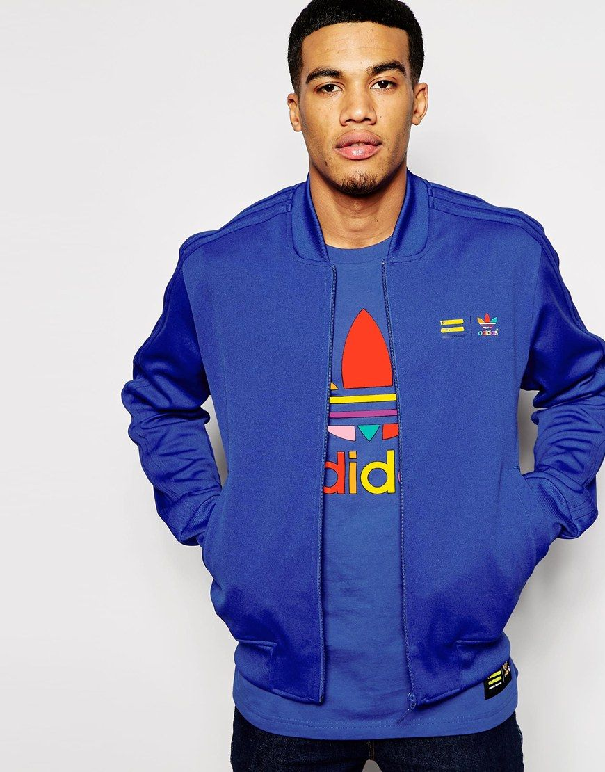 a6271e3f07363 adidas Originals X Pharrell Williams Supercolour Bold Blue ...