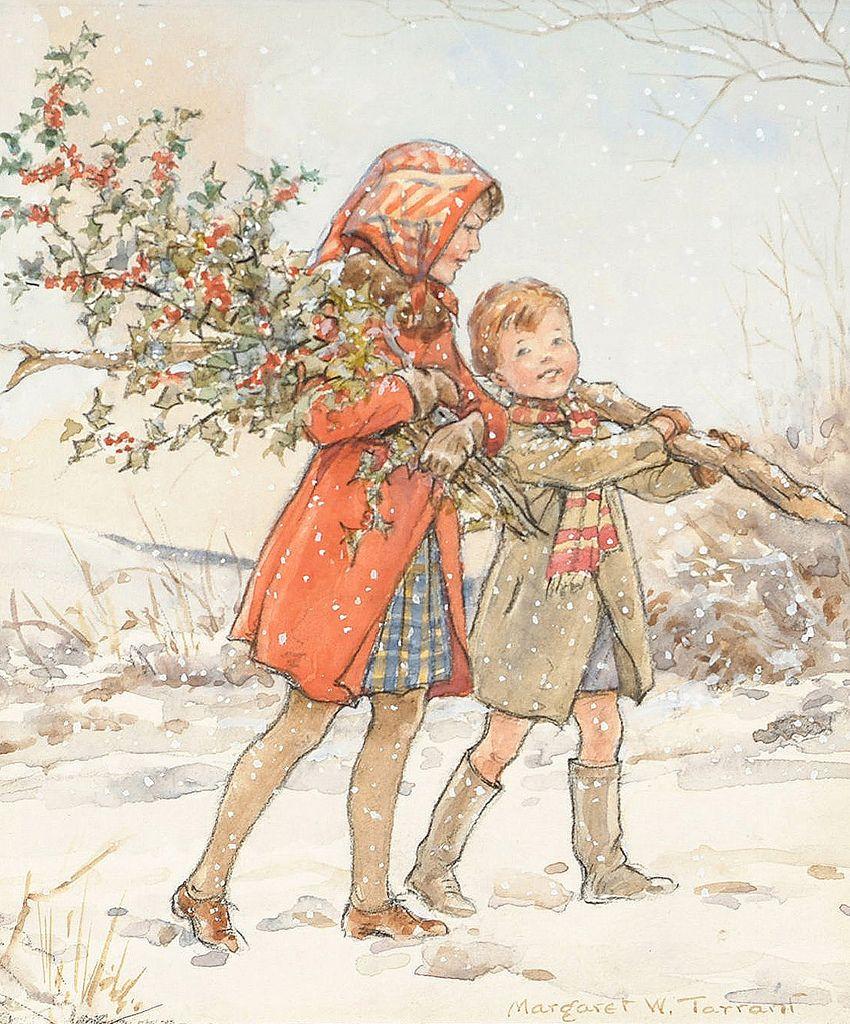 """Margaret Tarrant - """"Christmas"""""""