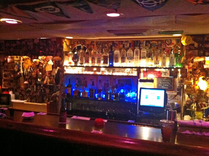 The Tiny Chart Room Bar At Pier House In Key West Merry Bartender Is Wonderful
