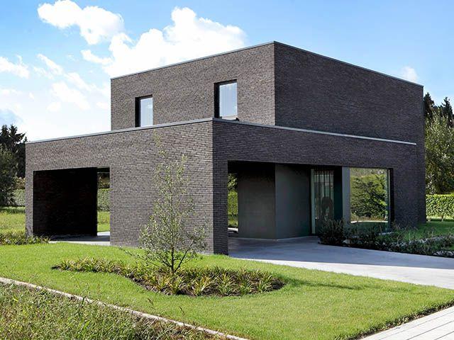 Moderne woning nieuwbouw deerlijk modern wonen pinterest - Landscaping modern huis ...