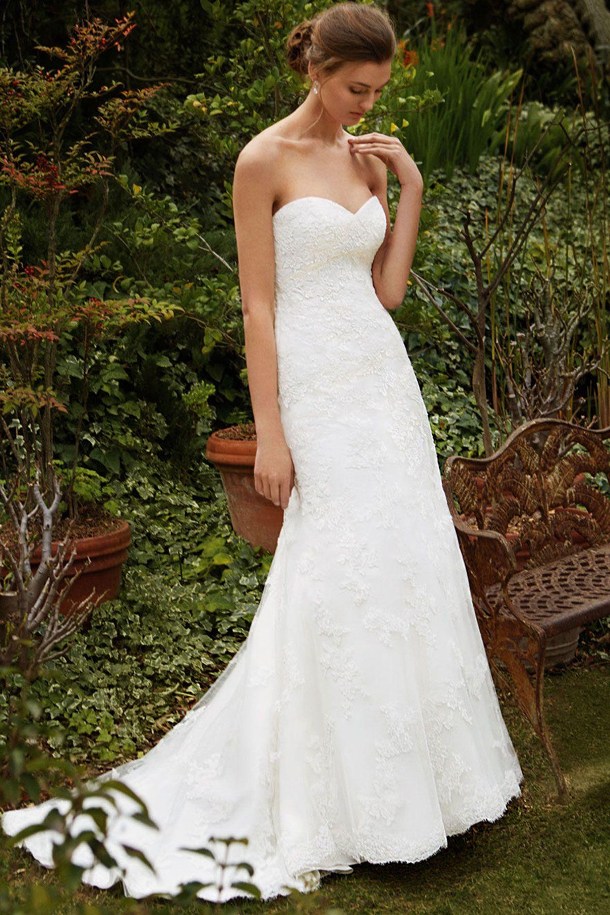 Enzoani ALine Wedding Dress Guides for Brides Wedding