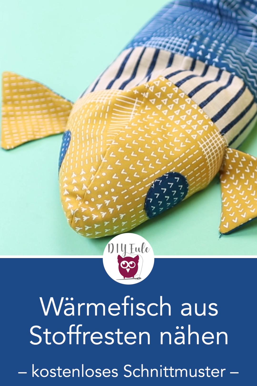 Photo of Patchwork Wäremfisch (Körnerkissen) nähen – Dress sewing patterns – Yirmisekiz Blog,  #Blog #…
