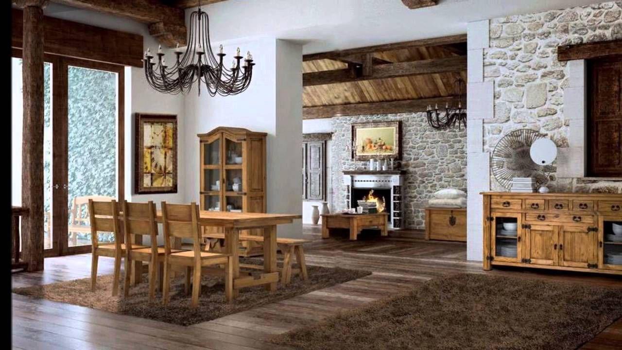 Interiores rusticos | Salones rústicos, Interiores rústicos ...