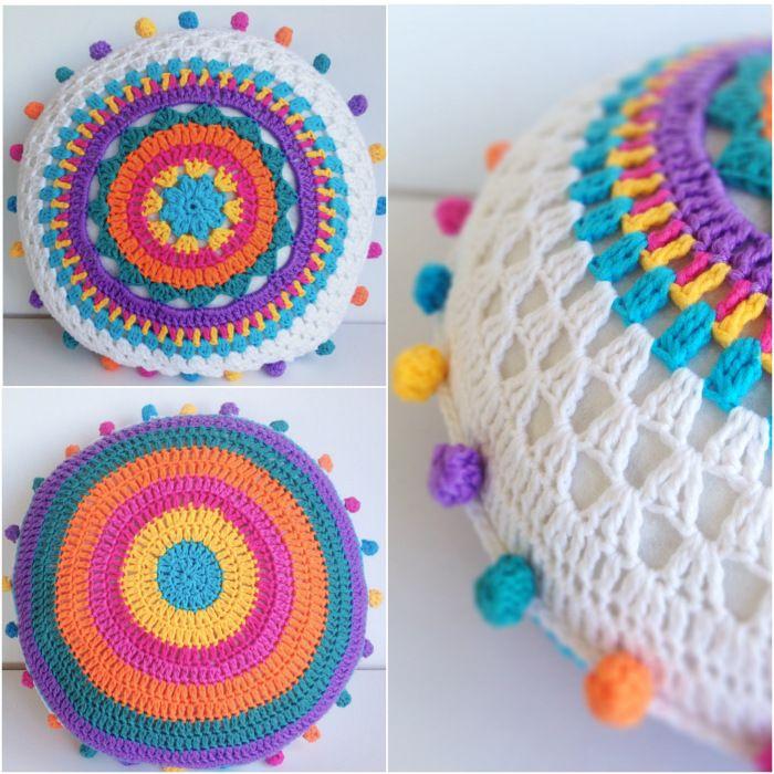 Crochet mandala inspiración | Marroquineria. Cueros. Bolsos. Zapatos ...