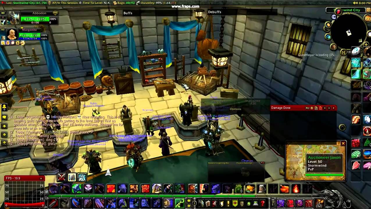 Amazing Wow Stormwind Guide During Patach 4 0 3 Auction House And Bank Warcraft World Of Warcraft Auction