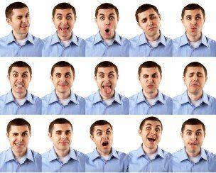 Reading facial expresions