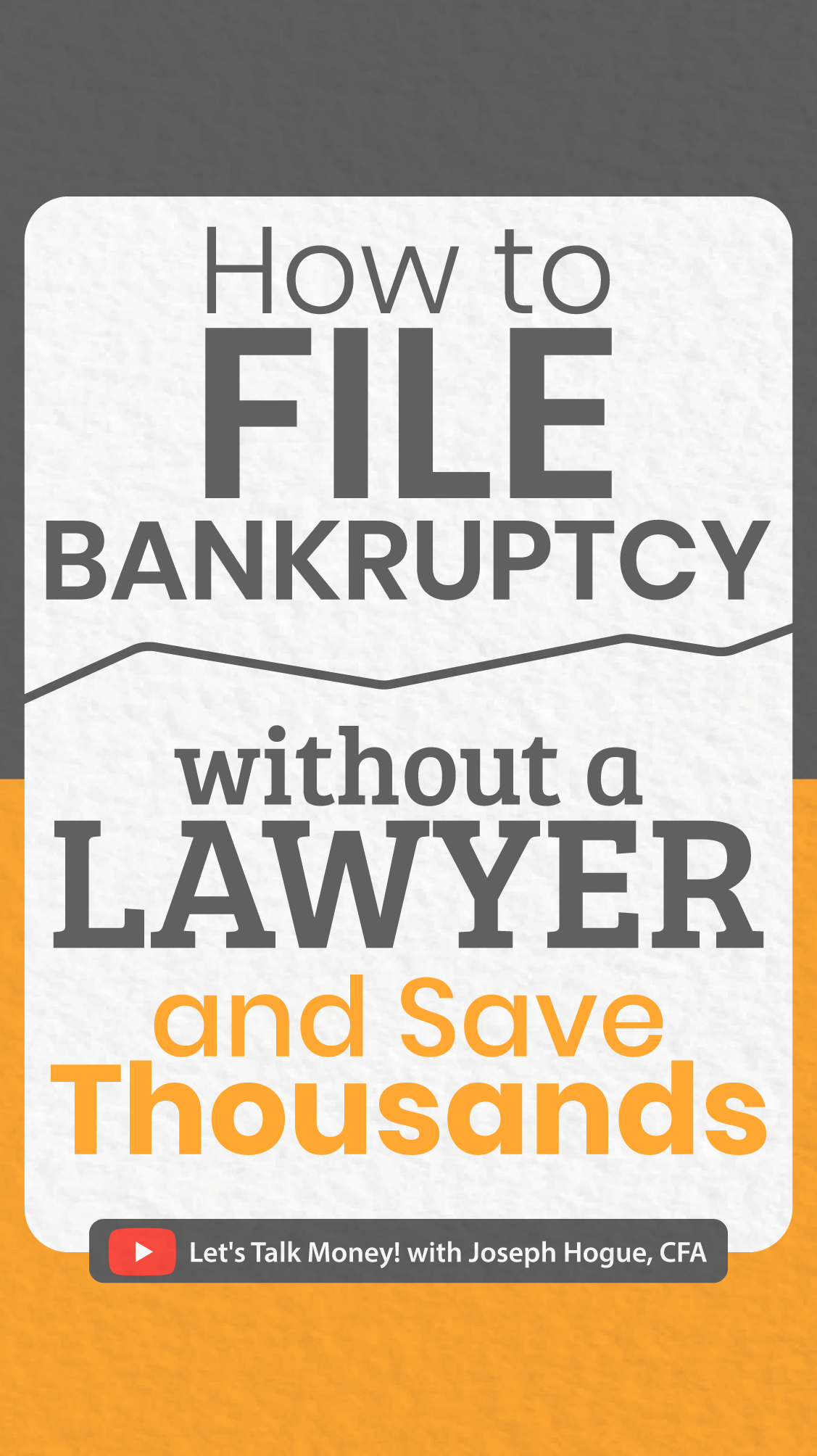 How to File Bankruptcy Online without a Lawyer [and SAVE