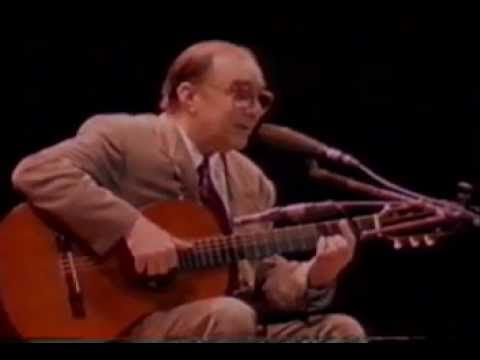 Joao Gilberto E Tom Jobim Chega De Saudade 1992 Youtube