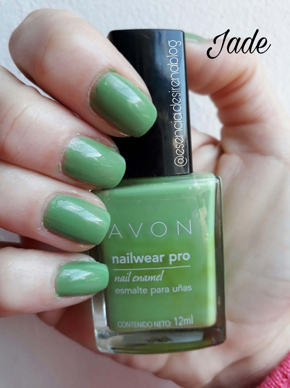 Jade Avon Nail Wear Pro   Avon True Color Nail Wear Pro   Pinterest